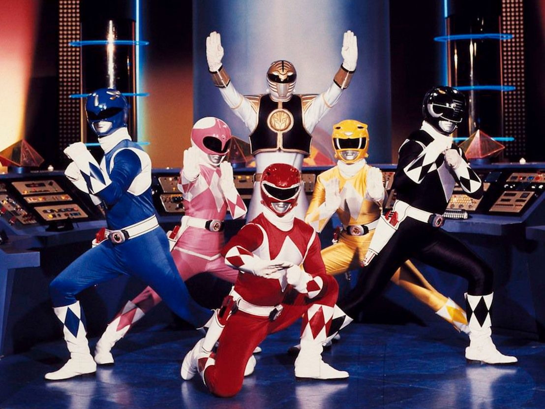 The Mighty Morphin Power Rangers in Power Rangers: The Movie (1995)