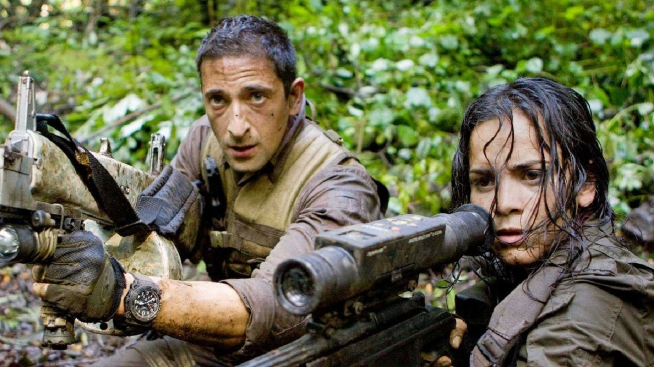 Adrien Brody and Alice Braga in Predators (2010)