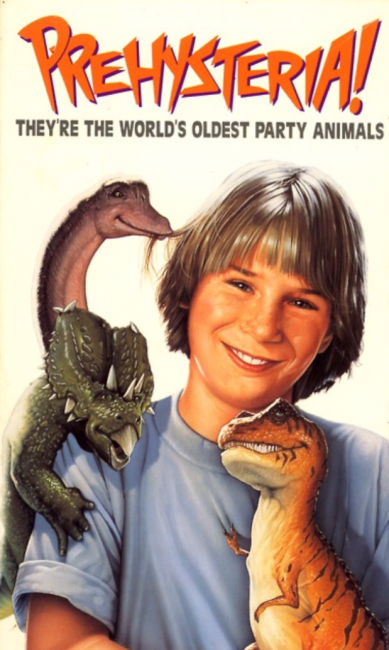 Prehysteria! (1993) poster
