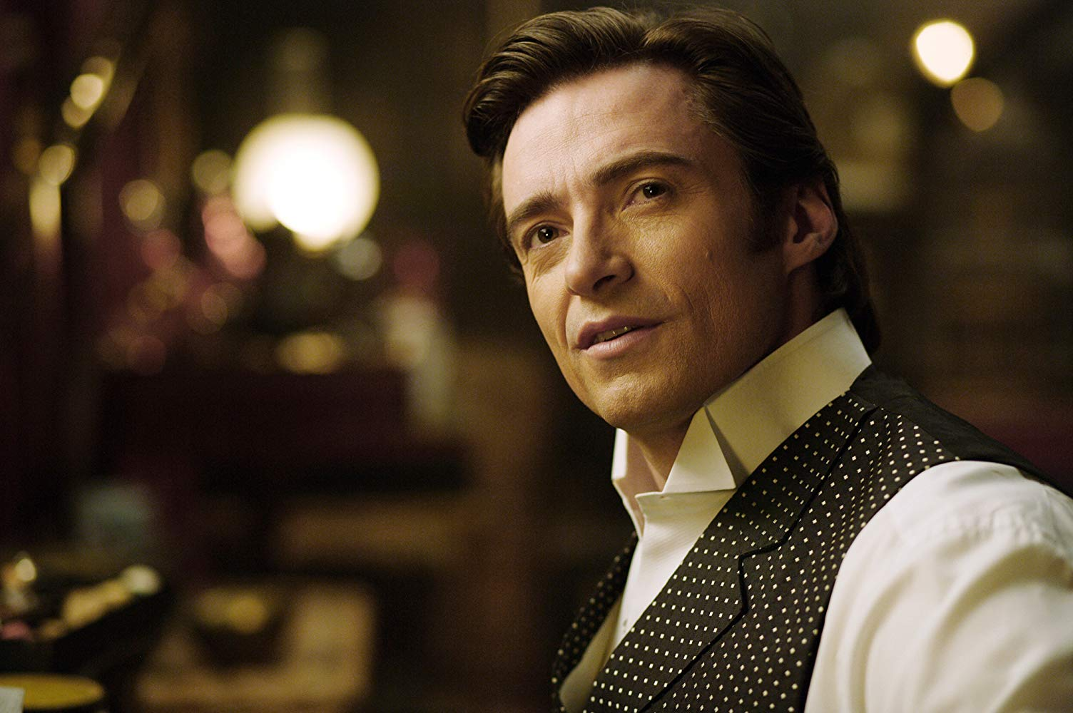 Hugh Jackman as Robert Angier in The Prestige (2006)