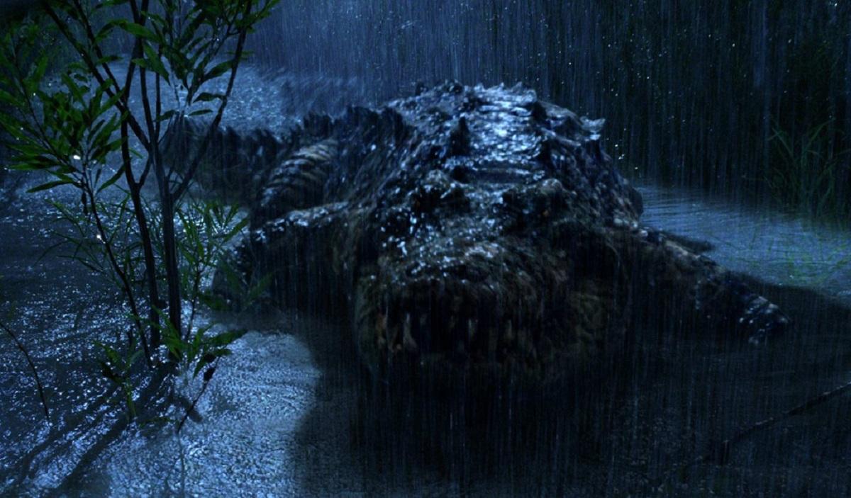 Gustave the giant killer crocodile in Primeval (2007)
