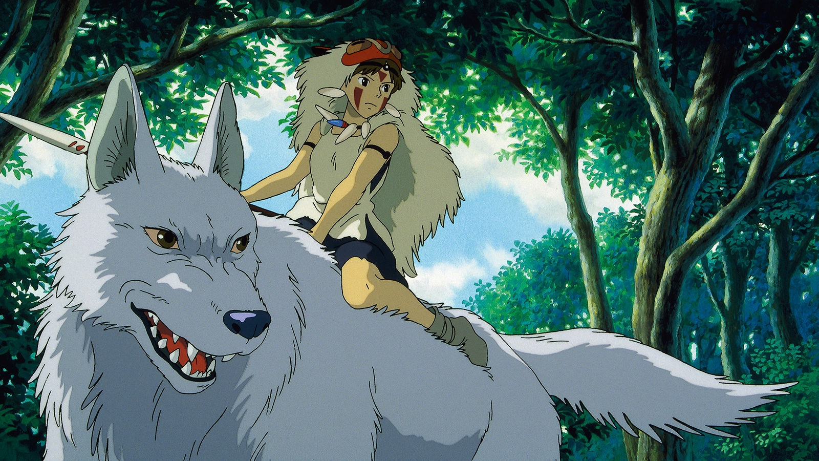 San in Princess Mononoke (1997)