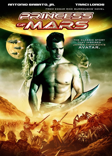 Princess of Mars (2009) poster