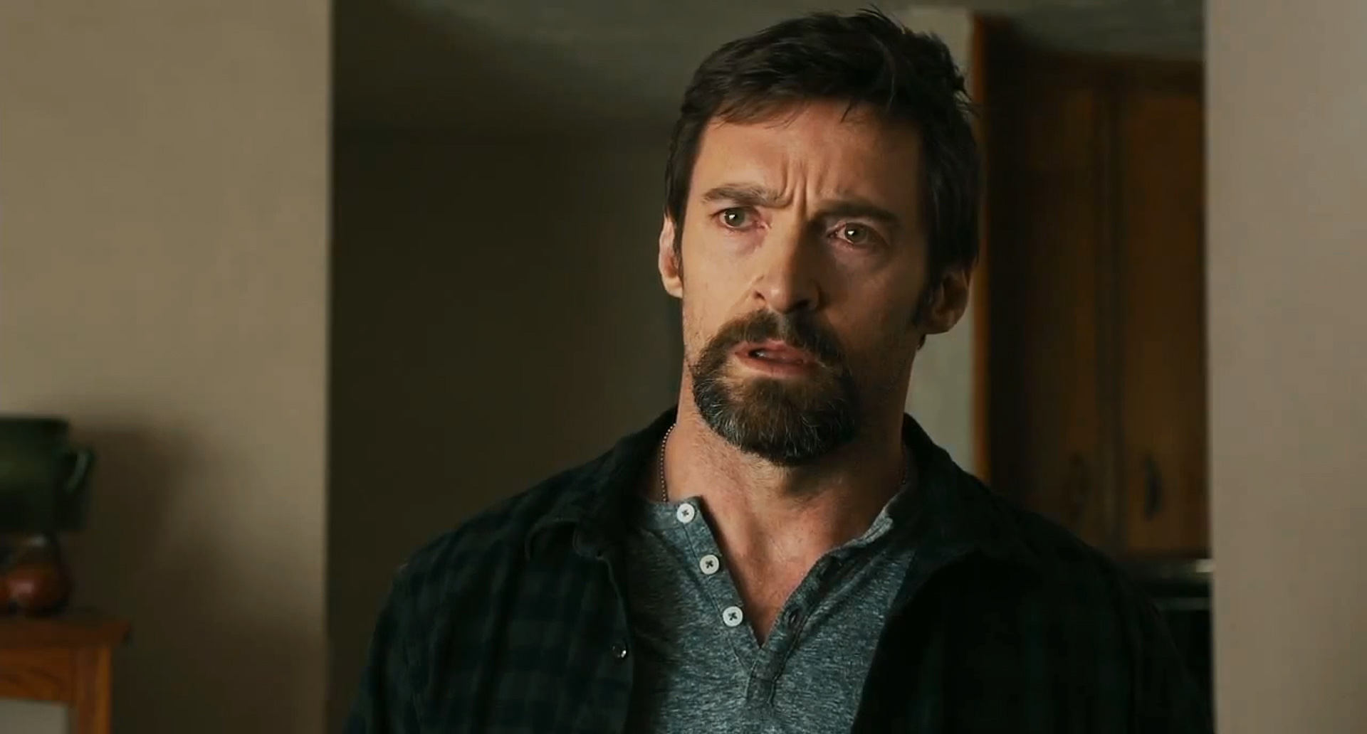Hugh Jackman as a convincingly ordinary and everyday parent in Prisoners (2013)