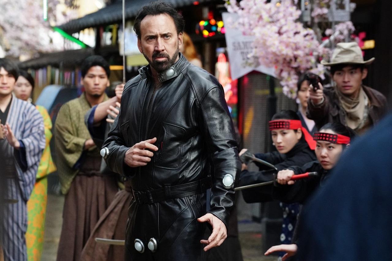 Nicolas Cage as Hero in Prisoners of the Ghostland (2021) 1