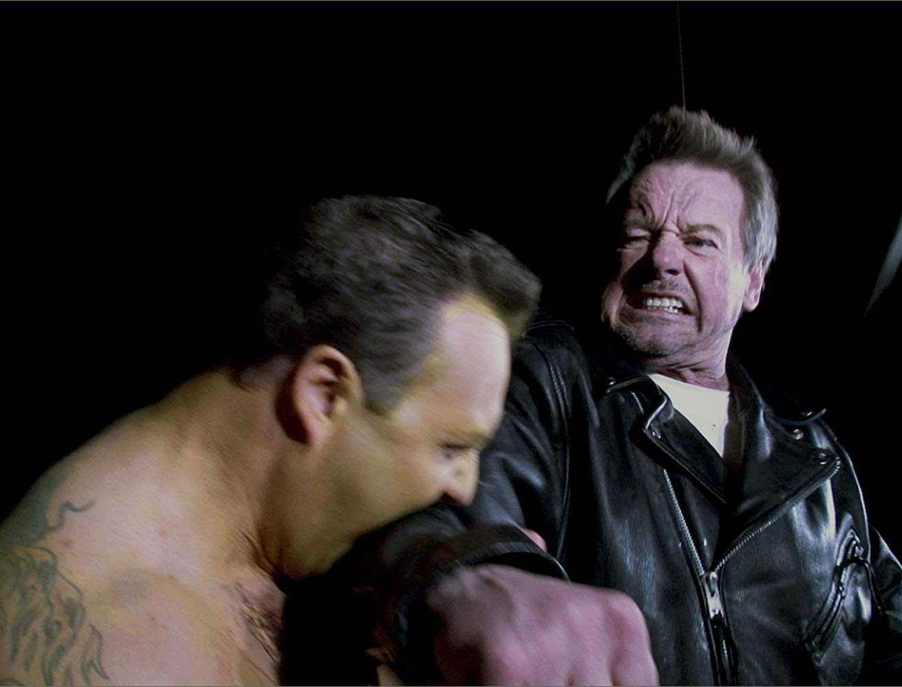 Rowdy Roddy Piper vs the zombies in Pro Wrestlers vs Zombies (2014)