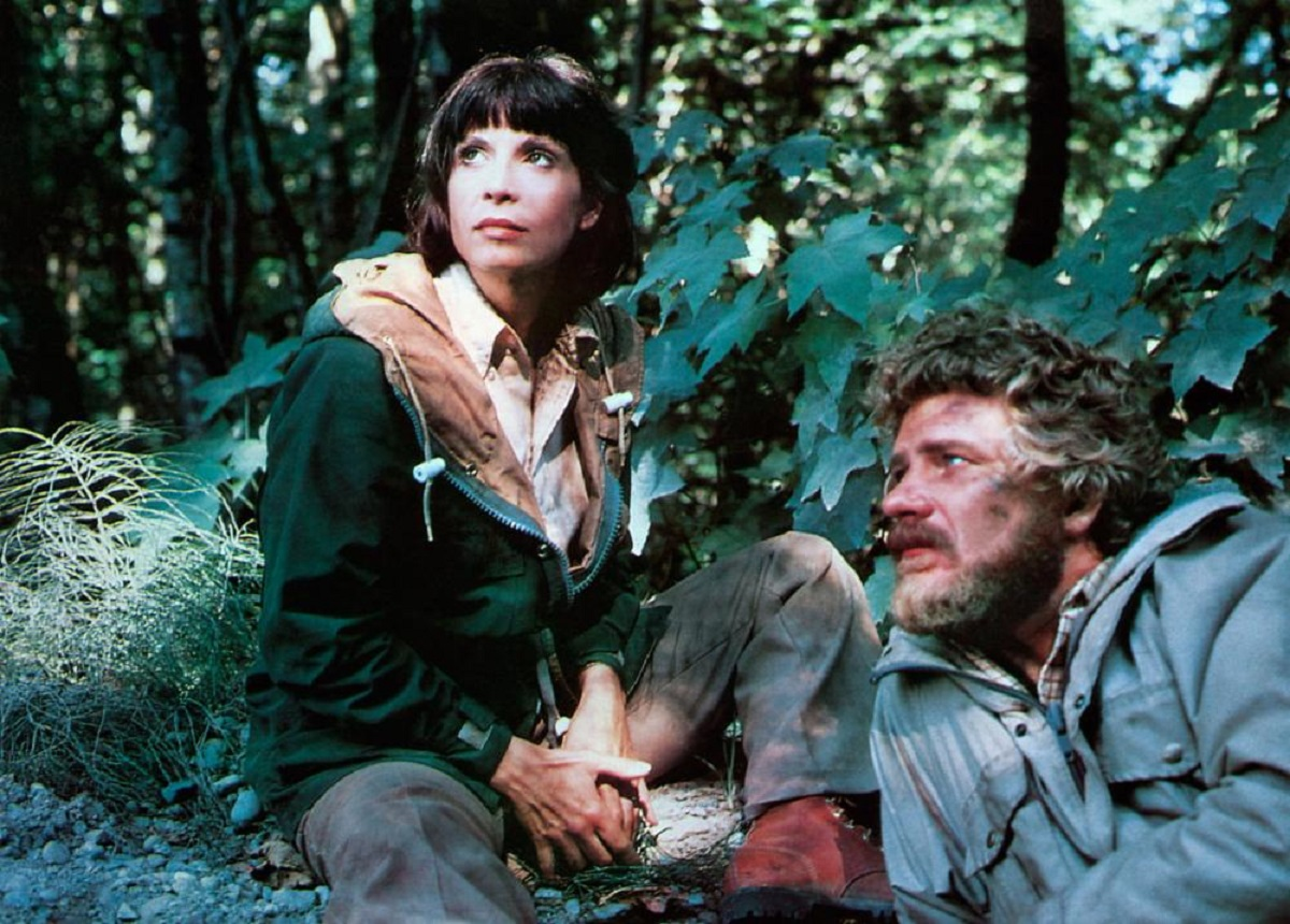 Health inspector Robert Foxworth and his wife Talia Shire relocated to the woods of Maine in Prophecy (1979)