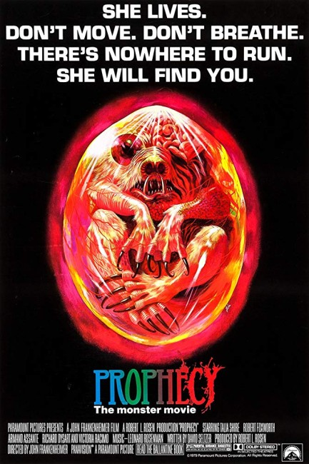 Prophecy (1979) poster