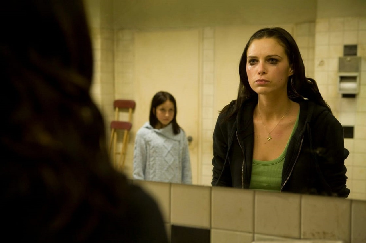 Sara Foster is given cause to doubt her sanity in Psych 9 (2010)