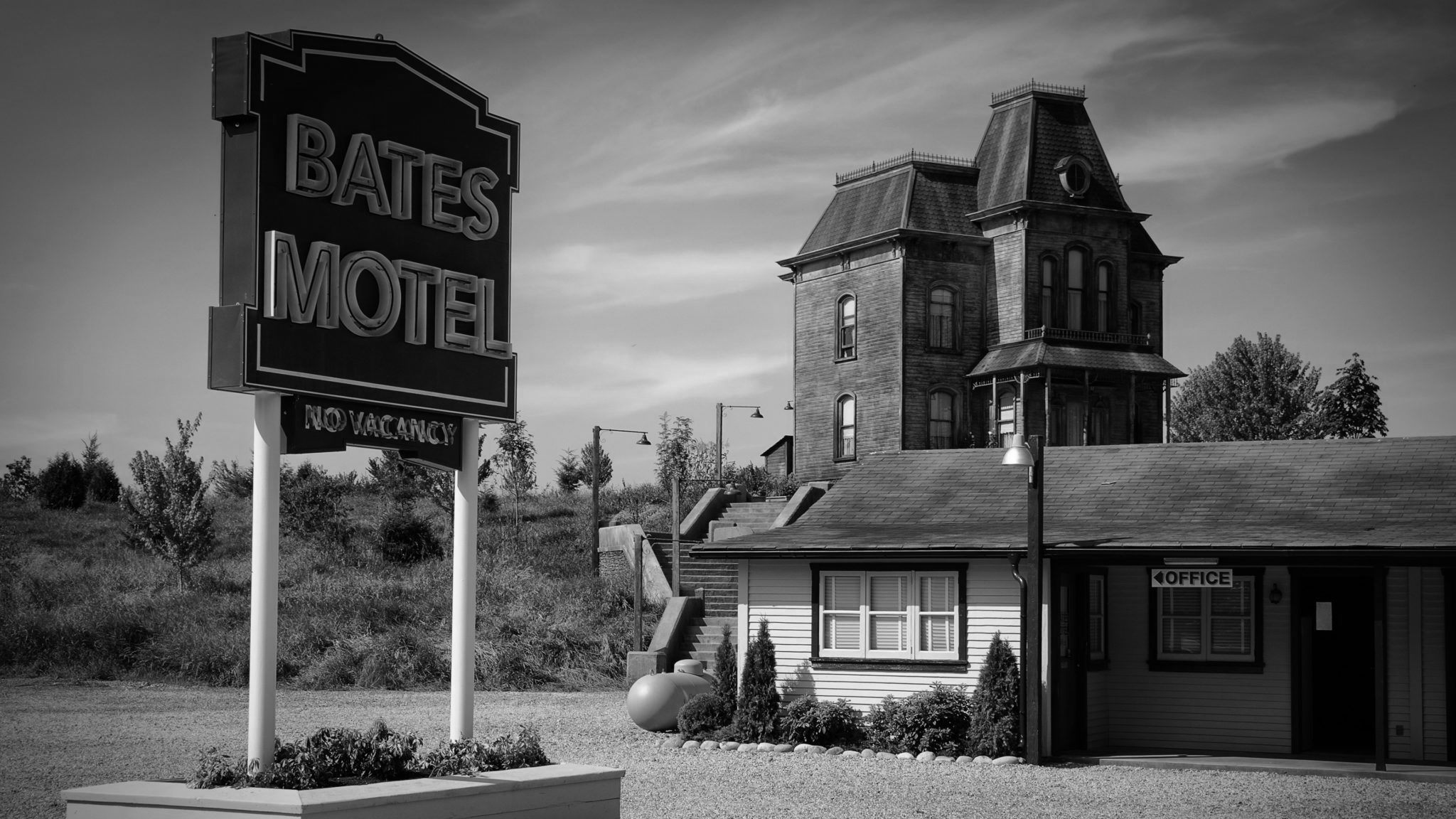The Bates Motel in Psycho (1960)
