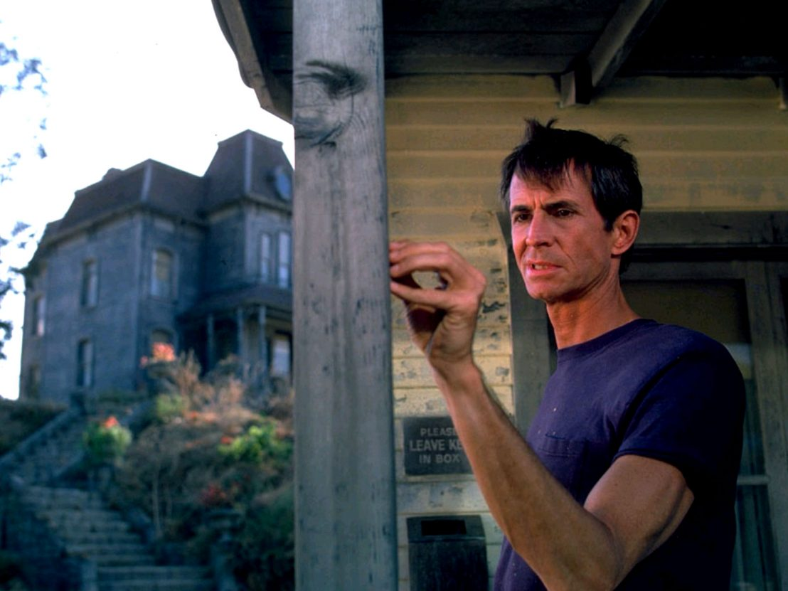 Anthony Perkins as Norman Bates - a return to the Bates motel after 22 years in Psycho II (1983)