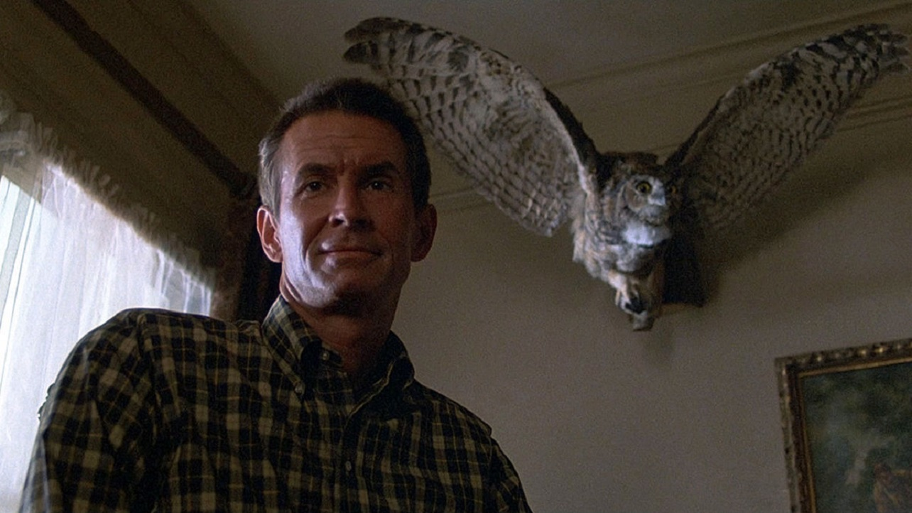 Anthony Perkins in his third round as Norma Bates - this time also taking the director's chair in Psycho III (1986)