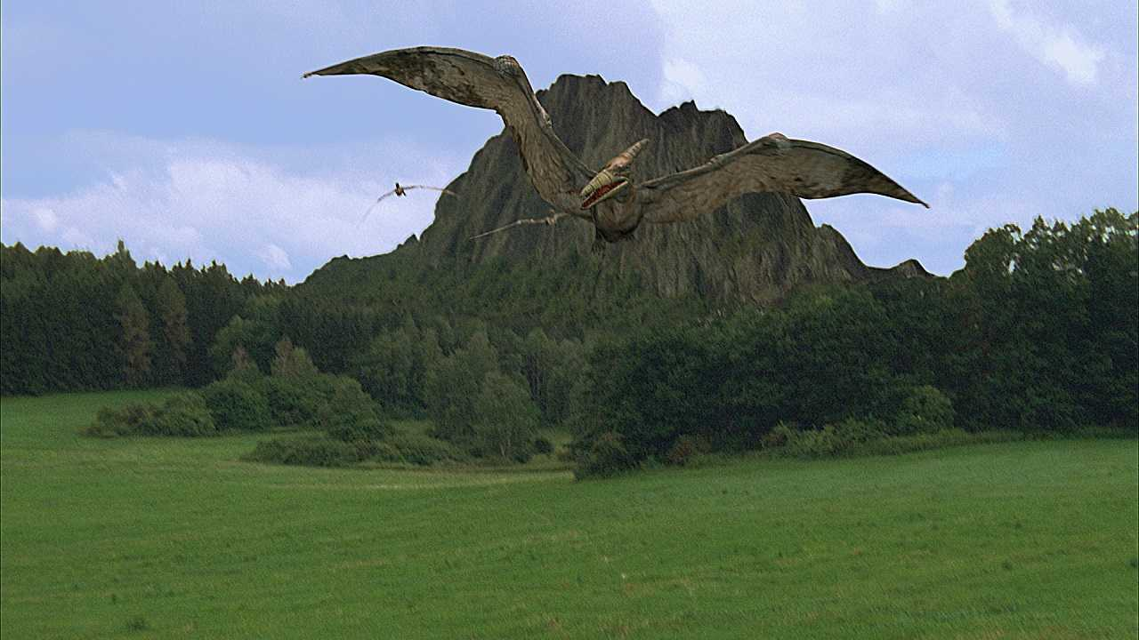 Revived pterodactyls in flight in Pterodactyl (2005)