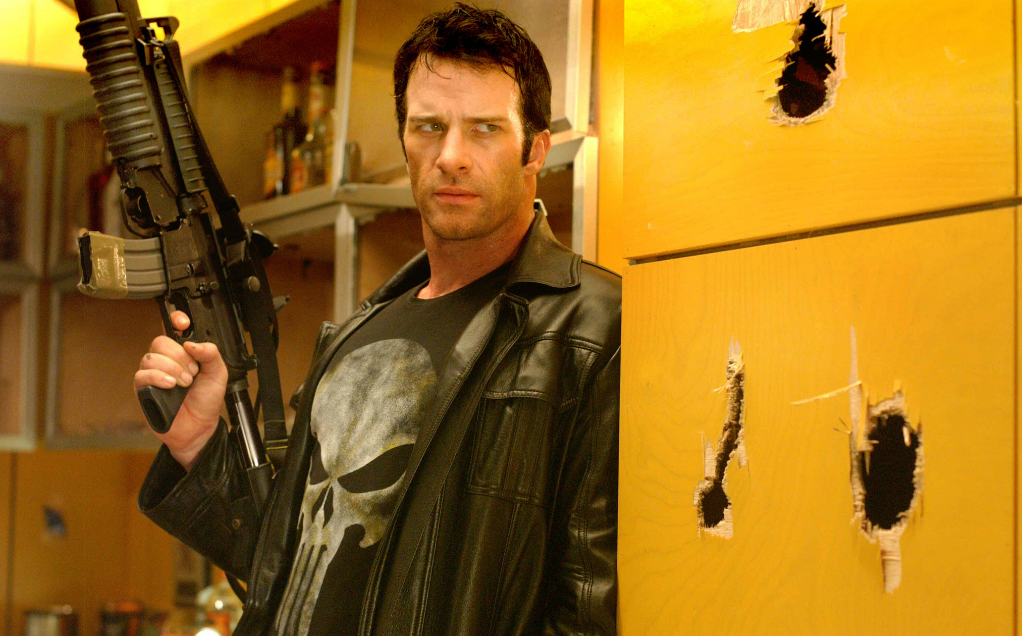 Thomas Jane as Frank Castle in The Punisher (2004)