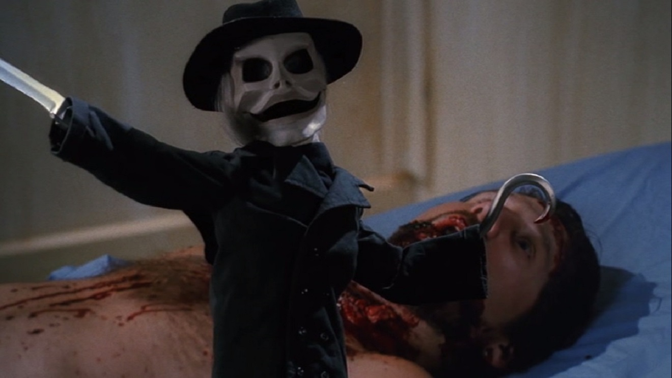 Blade and victim in Puppetmaster (1989)
