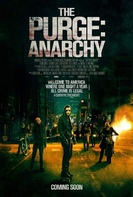 The Purge: Anarchy (2014) poster