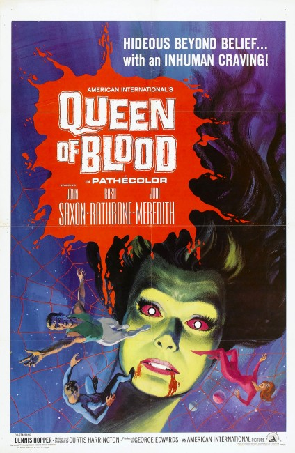 Queen of Blood (1966) poster