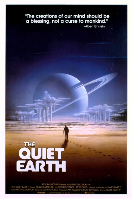 The Quiet Earth (1985) poster