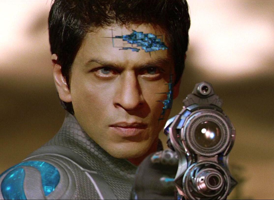 Shah Rukh Khan as G. One in Ra. One (2011)