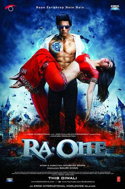 Ra. One (2011) poster