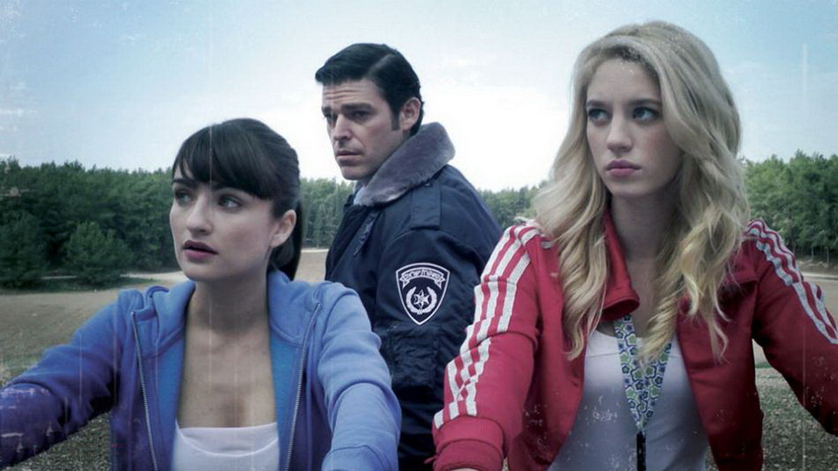 Ania Bukstein, Danny Geva and Yael Grobglas in Rabies (2010)