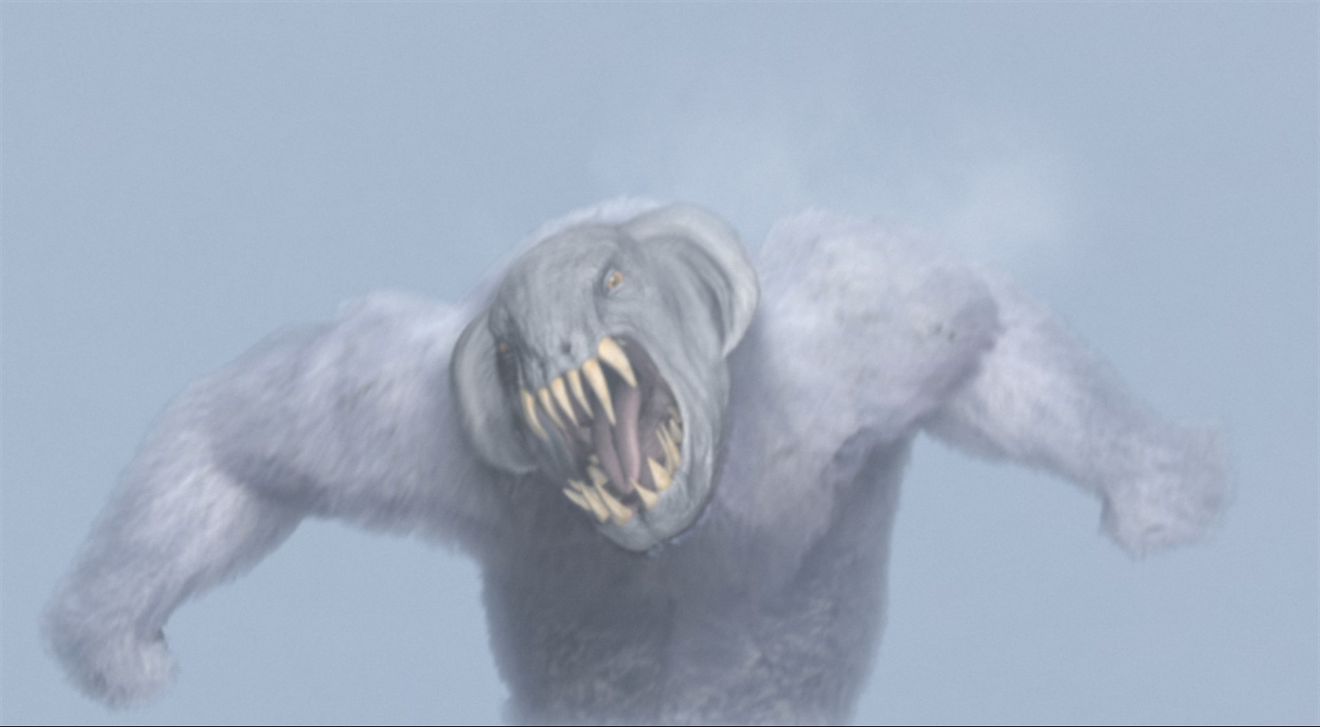 One of the Yeren/Yeti monsters in Rage of the Yeti (2011)
