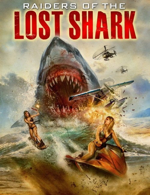 Raiders of the Lost Shark (2015) poster