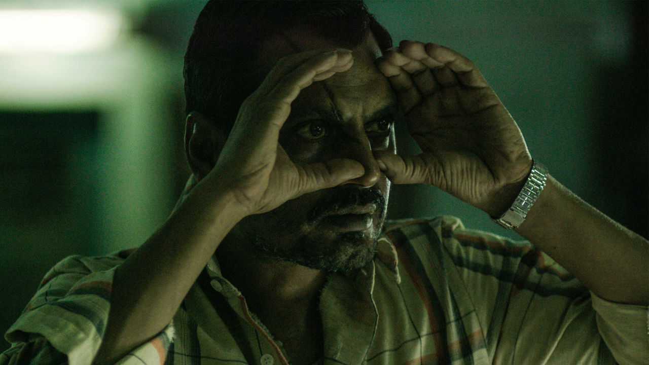 Nawazuddin Siddiqui as the serial killer Raman in Raman Raghav 2.0 (2016)