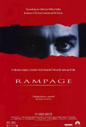 Rampage (1987) poster