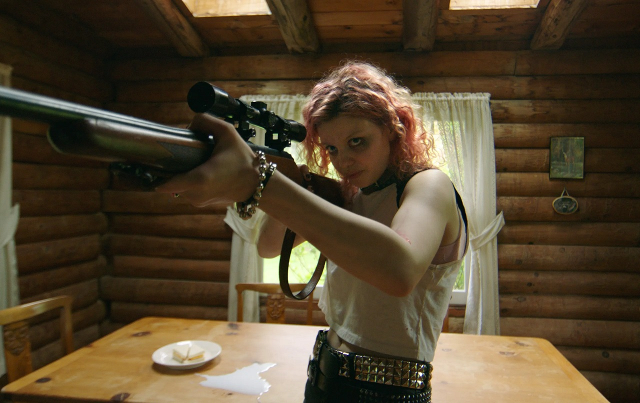 Chloe Levine defends herself in The Ranger (2018)