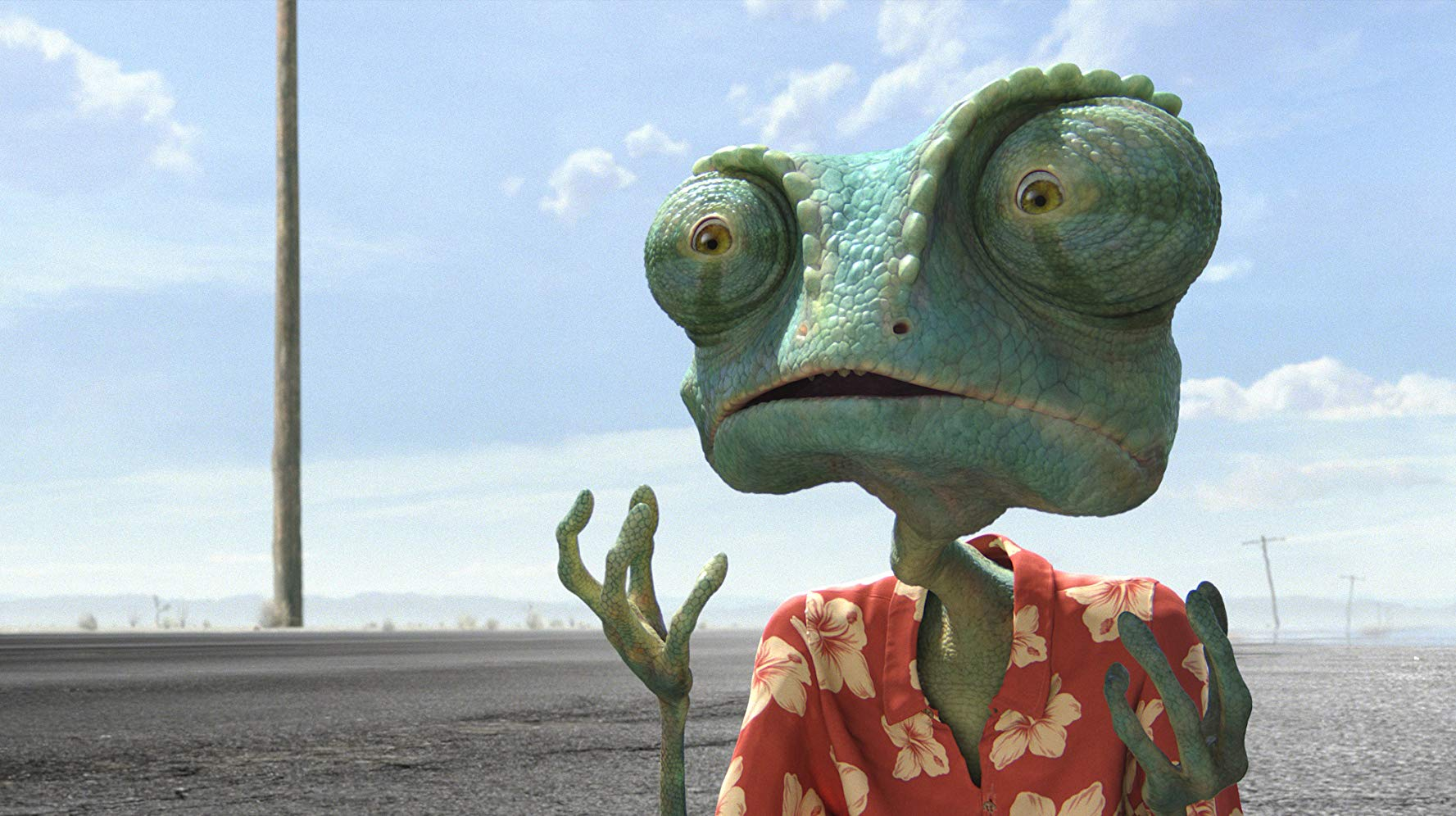 Rango (voiced by Johnny Depp) in Rango (2011)