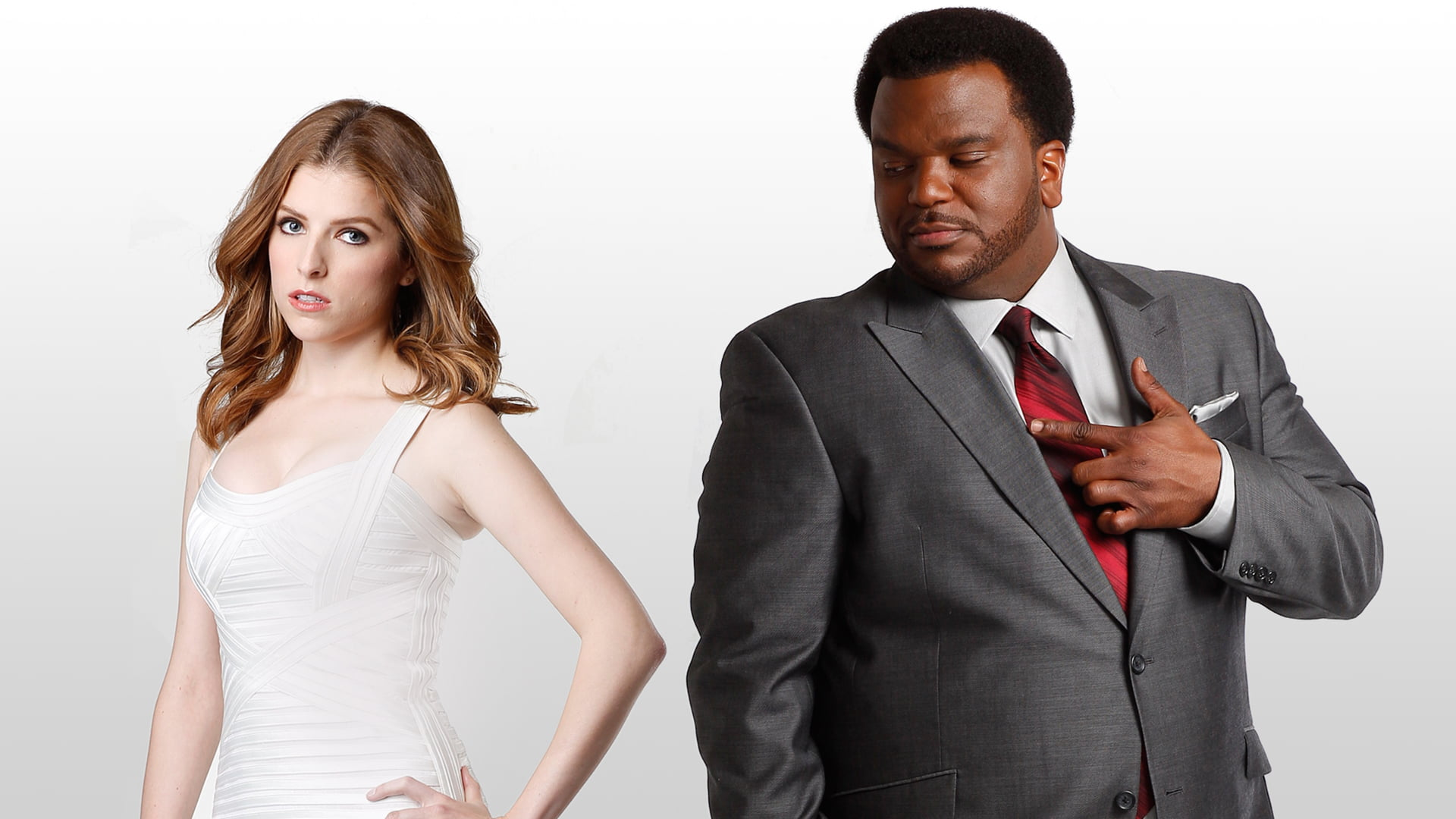 Anna Kendrick with Craig Robinson as Earl 'The Beast' Gundy in Rapture Palooza (2013)