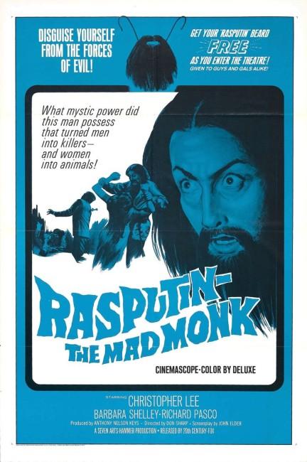 Rasputin the Mad Monk (1966) poster