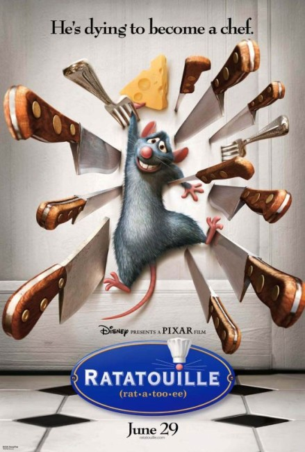 Ratatouille (2007) poster