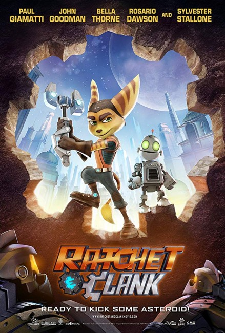 Ratchet and Clank (2016) poster