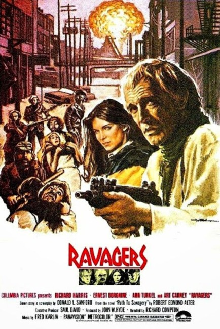 Ravagers (1979) poster