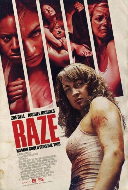 Raze (2013) poster