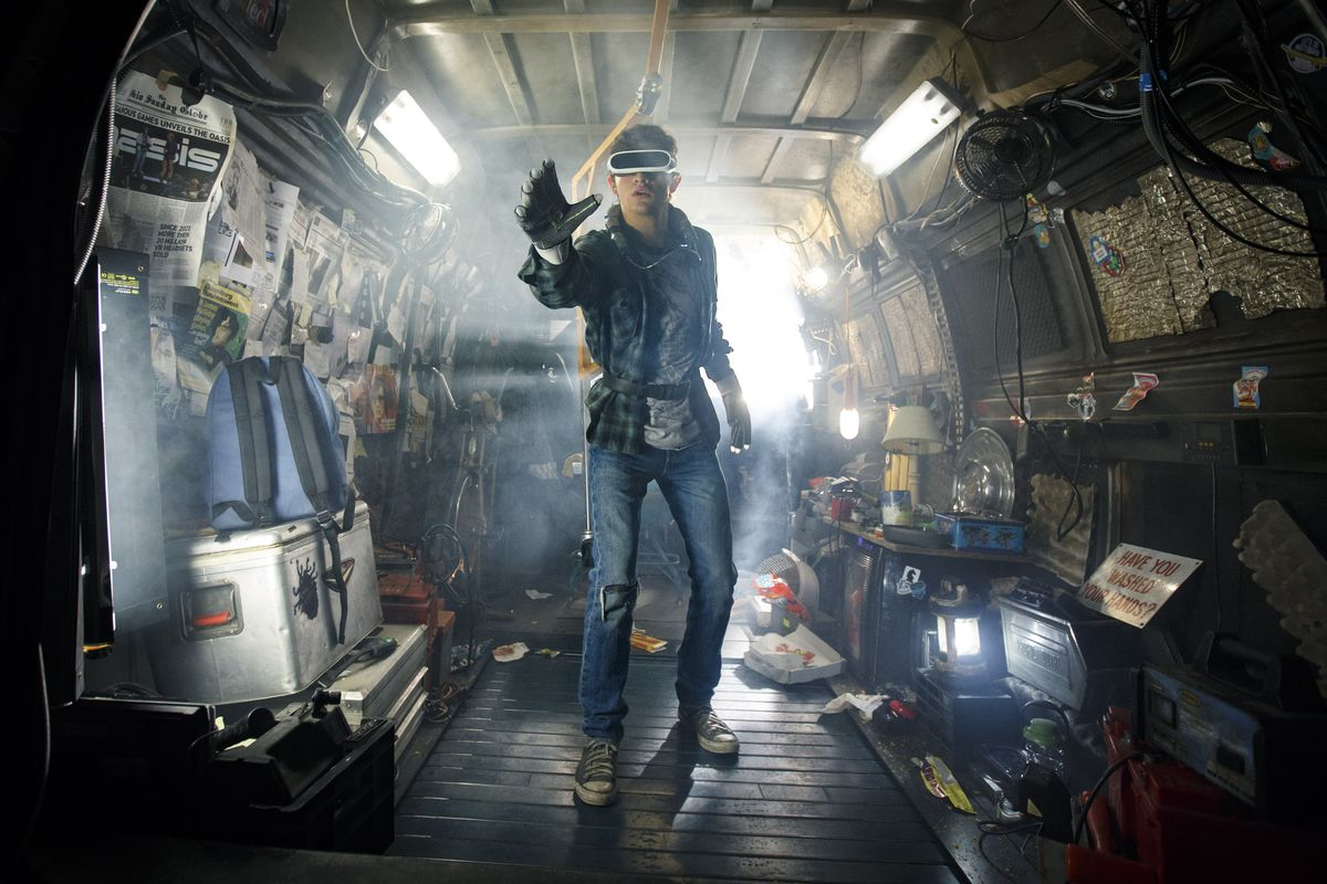 Wade Watts (Tye Sheridan) in Ready Player One (2018)