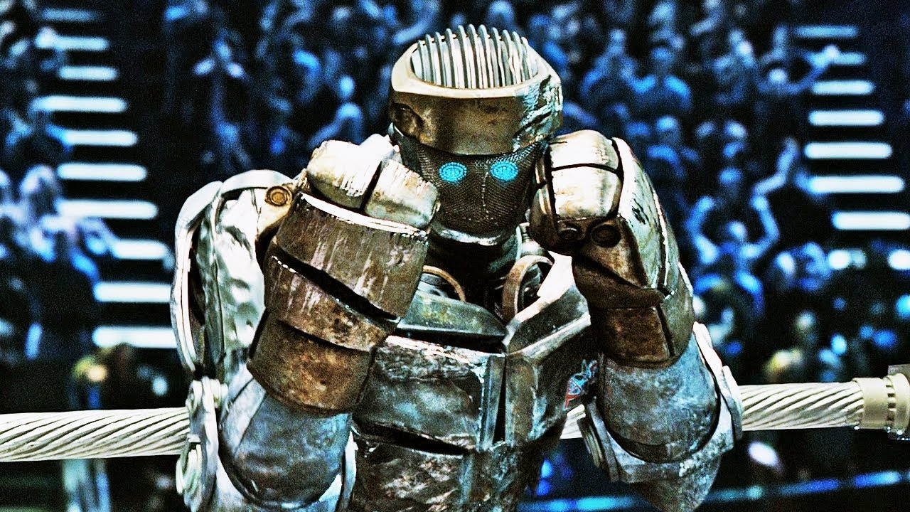 Atom the boxing robot in Real Steel (2011)
