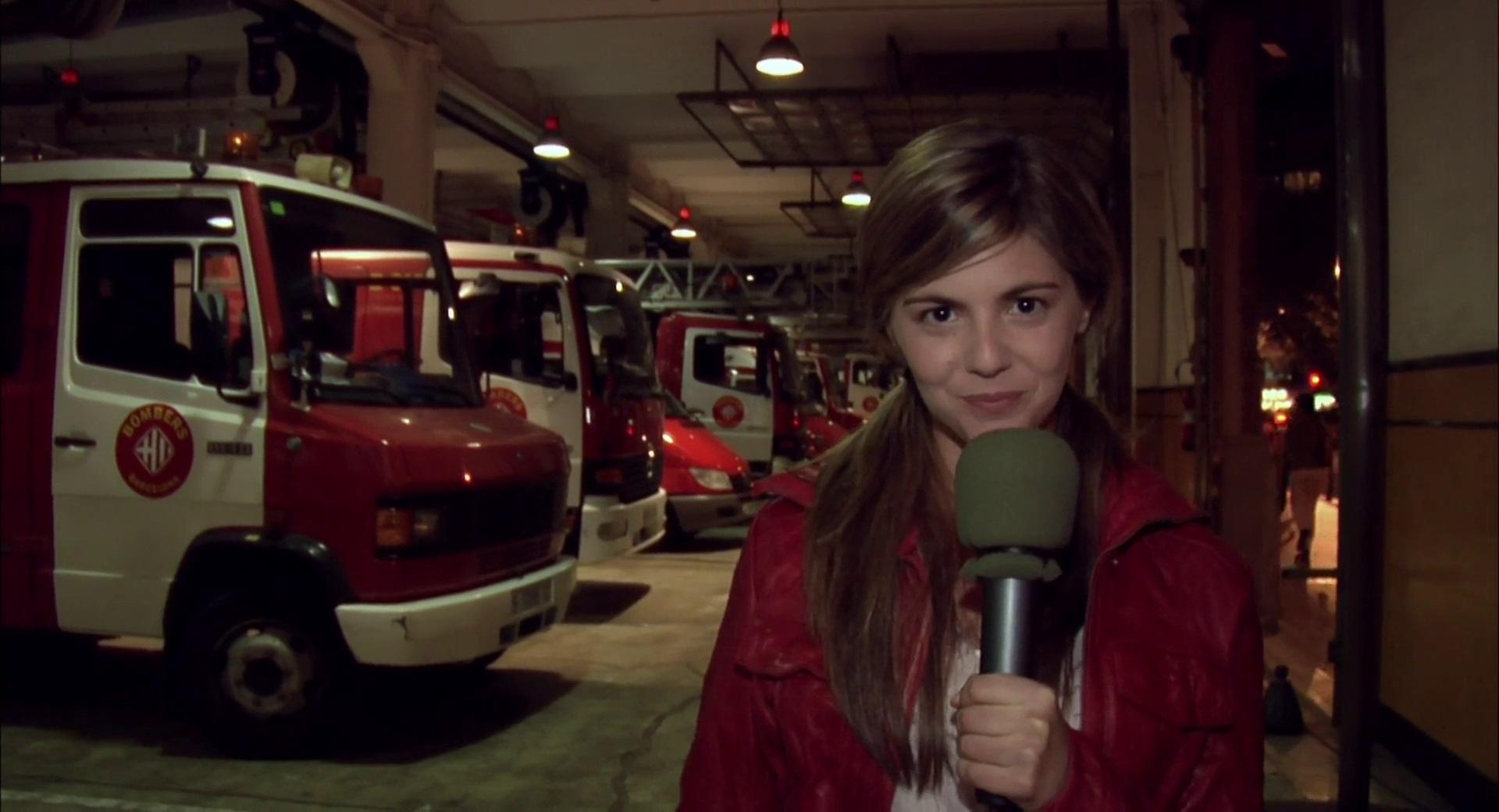 TV news presenter Angela Vidal (Manuela Velasco) in [Rec] (2007)