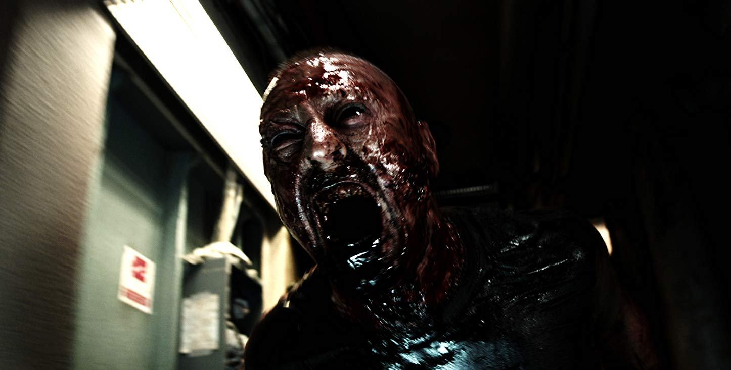 Zombies on board a ship in [Rec]4 Apocalypse (2014)
