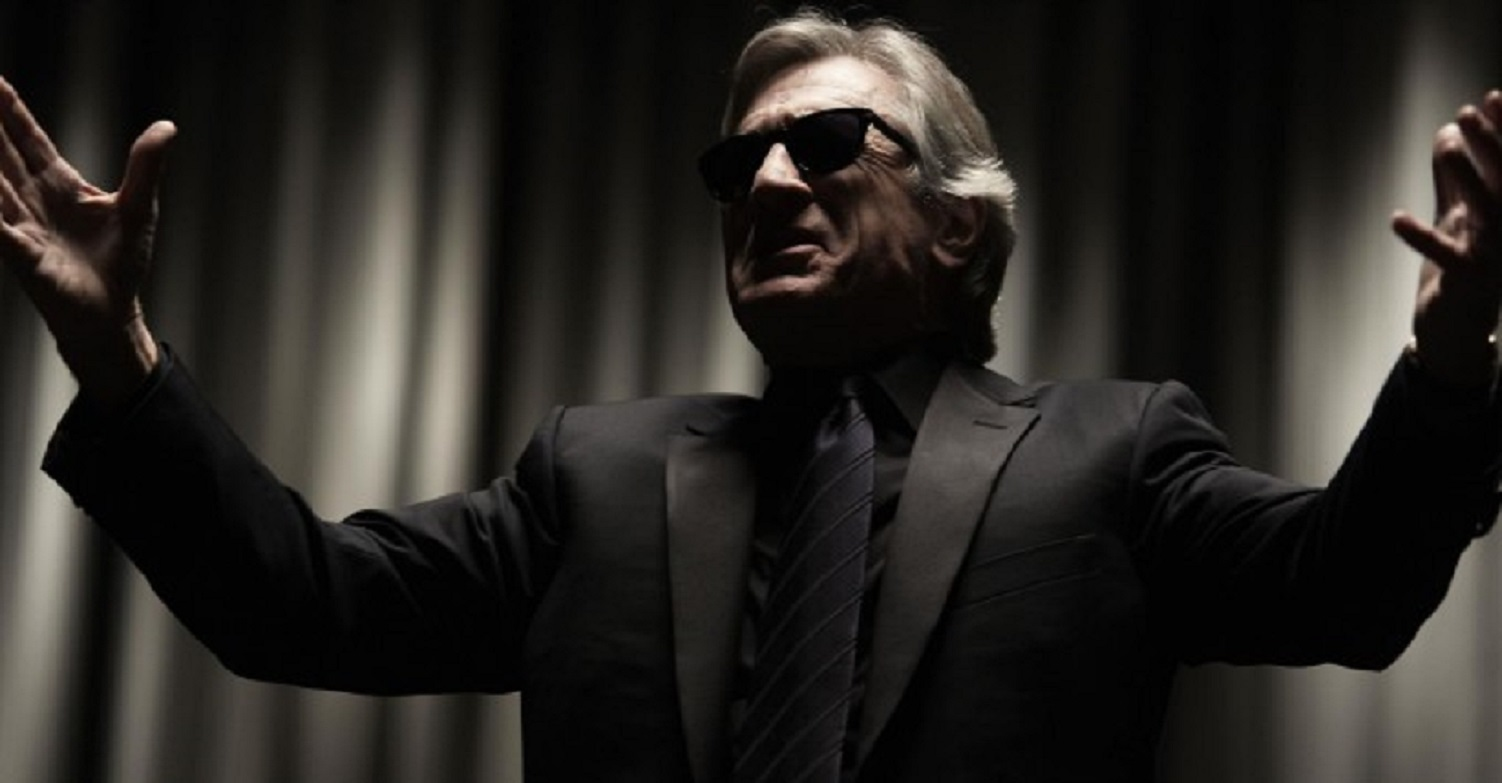 Robert De Niro as the blind psychic Simon Silver in Red Lights (2012)