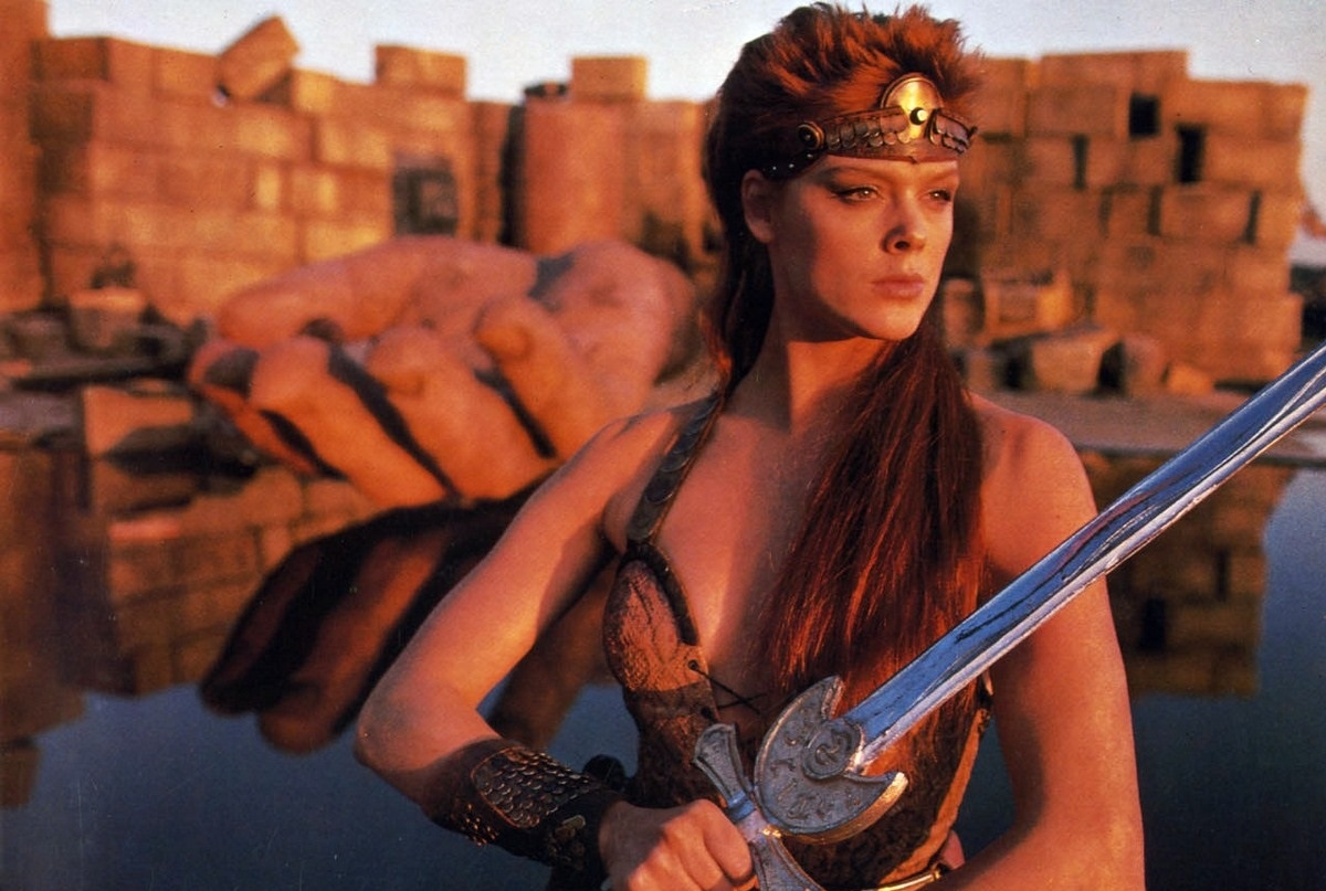 Brigitte Nielsen as Red Sonja (1985)