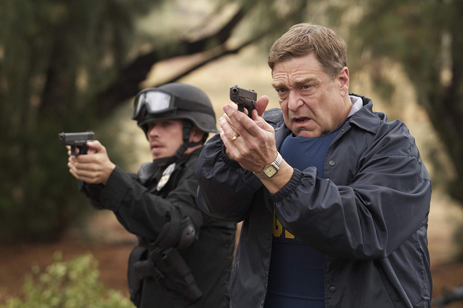 FBI agent John Goodman in Red State (2011)