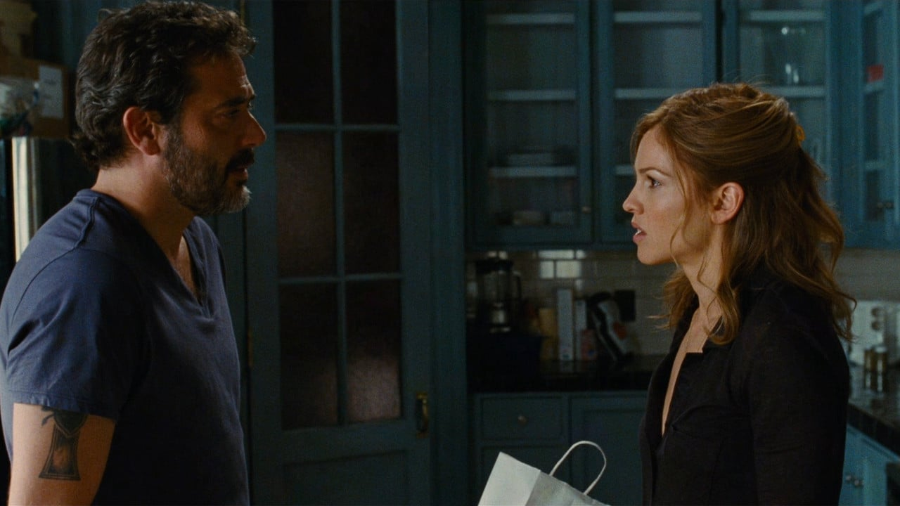 Hilary Swank and landlord Jeffrey Dean Morgan in The Resident (2011)