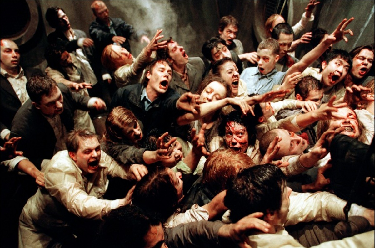 Zombies from Resident Evil (2002)