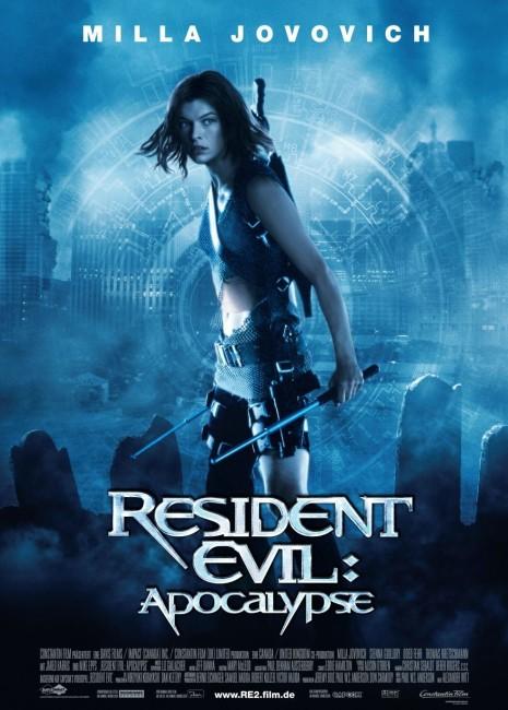 Resident Evil: Apocalypse (2004) poster