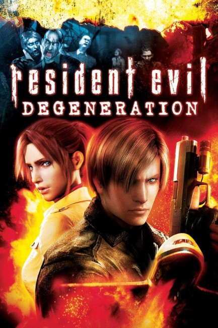 Resident Evil: Degeneration (2008) poster