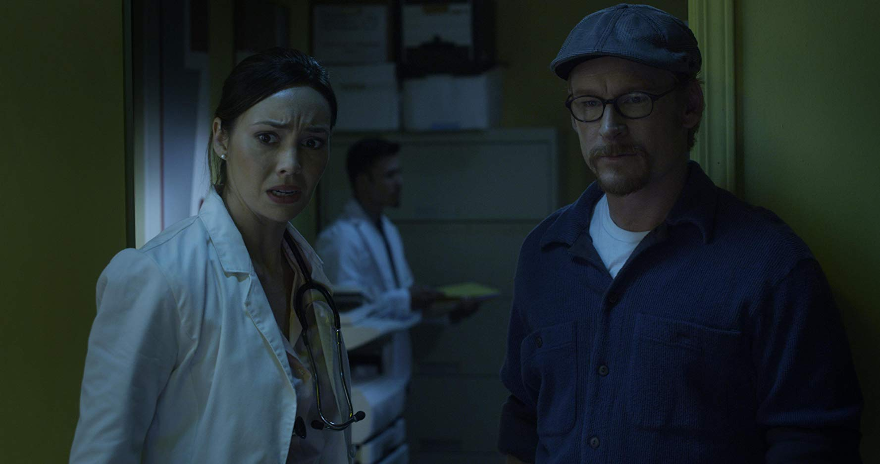 Zack Ward and  Emily O'Brien in Restoration (2016)