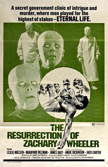 The Resurrection of Zachary Wheeler (1971) poster